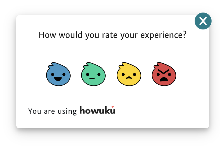 User feedback can be easy and enjoyable